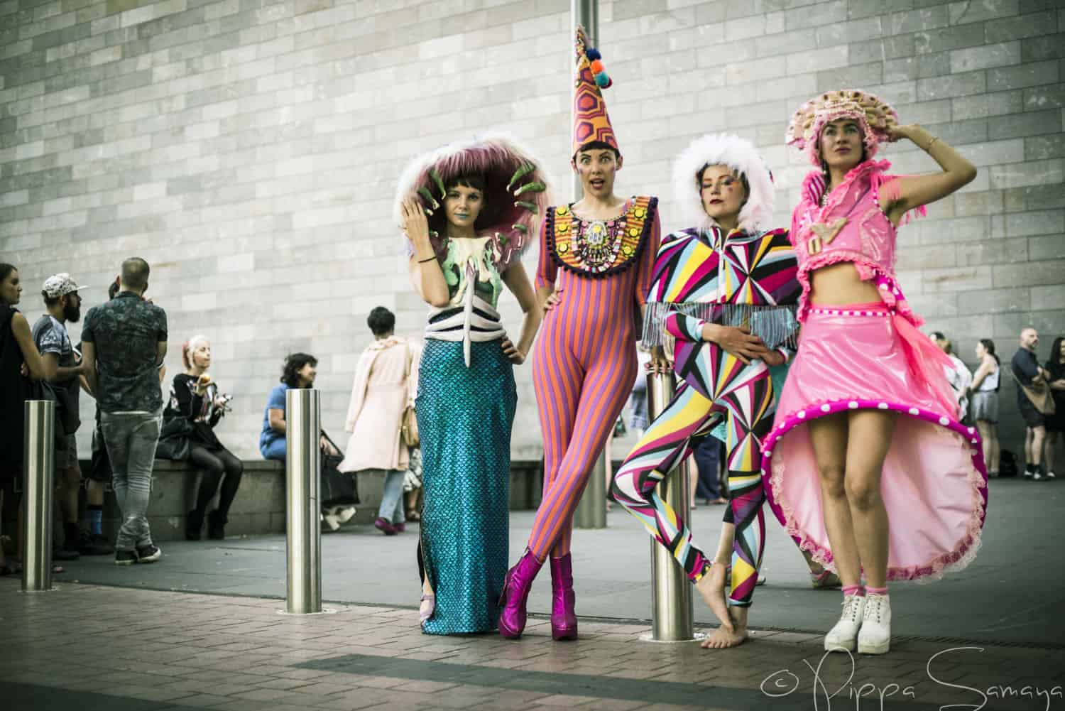 promo event outside jean paul gaultier - Fashion Production Manager